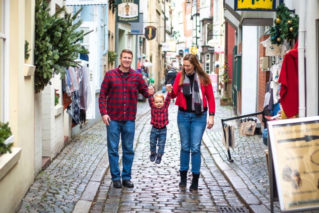 Familienfotoshooting mit Hund Schnorr Bremen