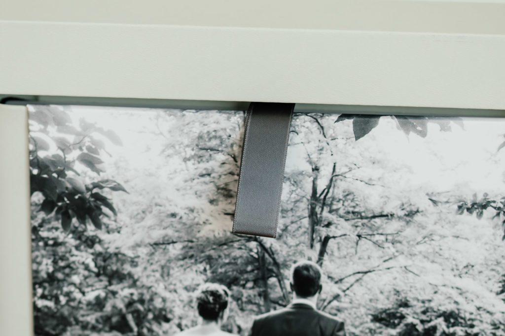 Detailaufnahme Fotoalbum Hochzeit