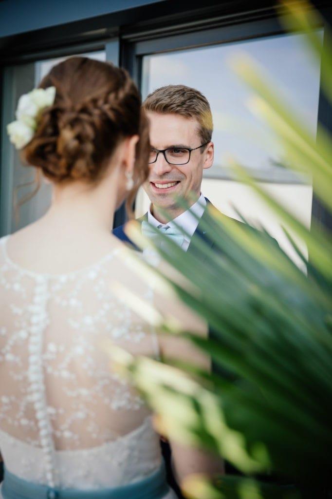First Look Brautpaarshooting