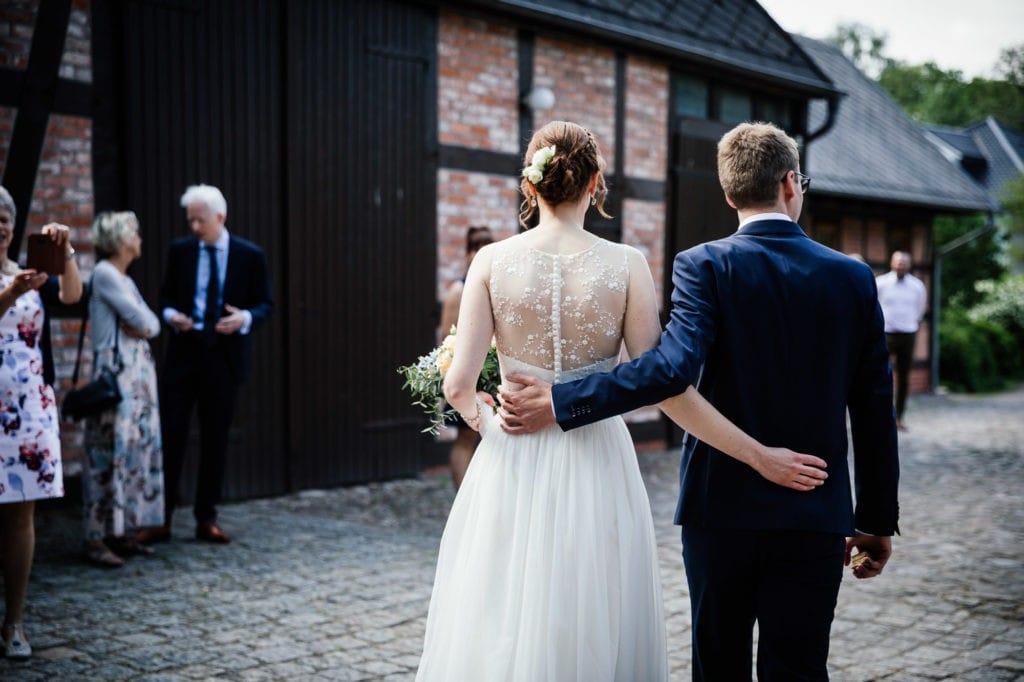 Brautpaar Luer-Kropp-Hof Bremen Oberneuland