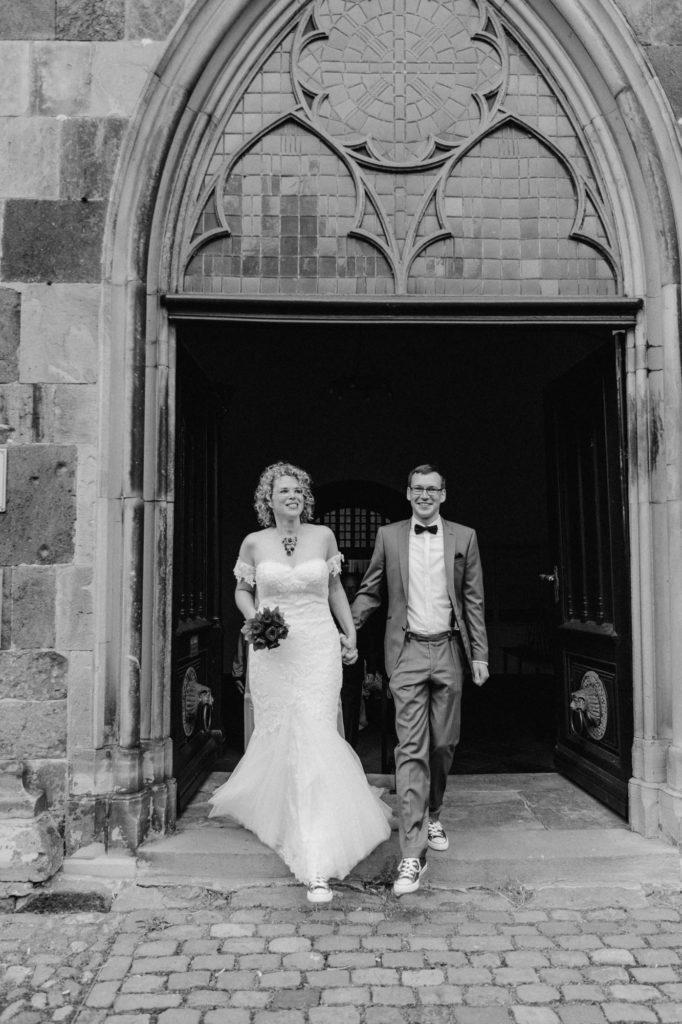 Brautpaar vor Verdener Dom